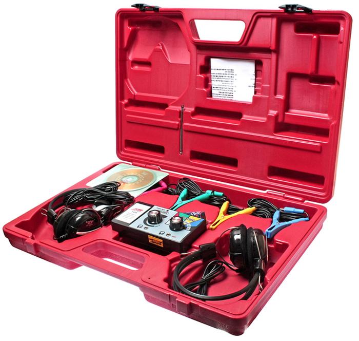 JTC Стетоскоп электронный. JTC-1426CA-3505Предназначен для профессионального использования при техническом обслуживании/ремонте двигателей. Позволяет более точно диагностировать шум и, тем самым, определить местоположение износившейся детали. Эффективно применяется для двигателей, проводов питания и трубопроводов различных автомобилей. В комплект входят две пары наушников, что дает возможность клиенту лично убедиться в наличии шумов. В комплекте:Тестовые зажимы типа крокодил - 5 шт. Магнитный тестовый сенсор - 1 шт. Соединительные провода - 6 шт. Блок управления - 1 шт. Магнитный датчик - 1 шт.Упаковка: прочный переносной кейс. Габаритные размеры: 530/360/90 мм. (Д/Ш/В) Вес: 2900 гр.