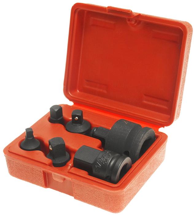 JTC Набор адаптеров ударных. JTC-646SK100В комплекте: F 1/4 xM 3/8, F 3/8 x M 1/4, F3/8xM 1/2, F 1/2 x M 3/8, F1/2xM3/4, F3/4xM 1/2.Материал: Хром-молибденовая сталь