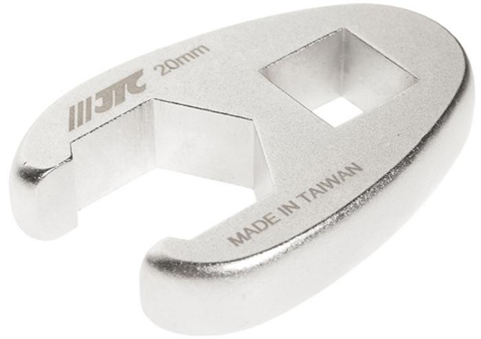 """JTC Ключ разрезной односторонний 1/2, 20 мм. JTC-1924CA-3505Инструмент изготовлен из хром-молибденовой стали, предназначен для откручивания/закручивания накидных гаек различных гидро- и пневматических систем автомобиля.Односторонний.Размер: 1/2"""", 20 мм.Габаритные размеры: -/-/- мм. (Д/Ш/В)Вес: - гр."""