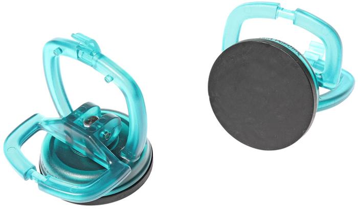 JTC Приспособление для снятия и установки стекол, выдерживаемая масса 12 кг, 2 шт. JTC-3118CA-3505Предназначены для удержания стекла во время выполнения работ по ремонту стеклоподъемников. Прочное приспособление выдерживает вес более 12 кг.Диаметр присоски: 56 мм. В комплекте 2 шт. Количество в оптовой упаковке: 12 шт. и 48 шт. Габаритные размеры: 210/170/90 мм. (Д/Ш/В) Вес: 173 гр.