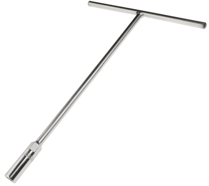 JTC Ключ торцевой T-образный 10 мм. JTC-3657RC-100BWCИнструмент изготовлен из закаленной хром-ванадиевой стали, хромированное покрытие.Размер: 10 мм.Длина: 300 мм.