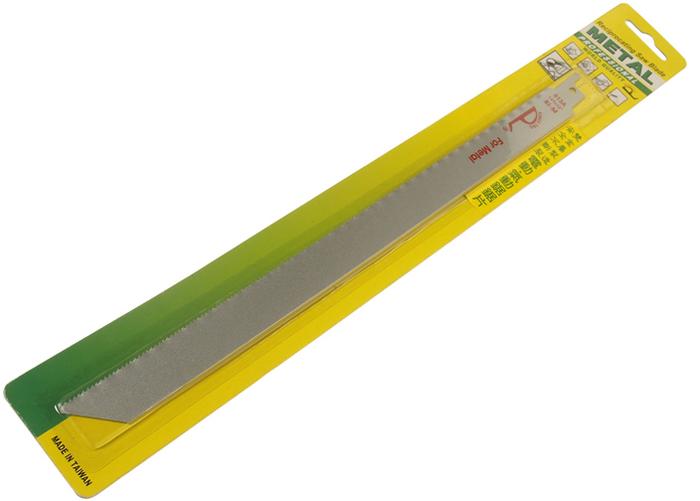 JTC Полотно ножовочное широкое биметаллическое 12х18Т. JTC-3748CA-3505Изготовлено из двух металлов, что способствует особой прочности инструмента. Подходит для применения с электрической или пневматической пилой JTC-5052 и JTC-5236. Ширина: 29 мм., толщина: 1.5-3 мм., длина: 280 мм. Размер: 12;х18Т. Габаритные размеры: 380/50/5 мм. (Д/Ш/В) Вес: 55 гр.
