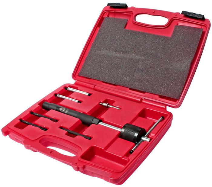 JTC Набор съемников свечей накаливания. JTC-4052CA-3505Предназначены для извлечения свечей накаливания. Съемники в комплекте: 5 шт. с внешний размером адаптера: 2.7x1, 3.6x1, 5x2, 6x1 1 шт. внутренний размер держателя адаптера: 5.5Общее количество предметов: 7. Упаковка: прочный переносной кейс. Количество в оптовой упаковке: 20 шт. Габаритные размеры: 300/250/60 мм. (Д/Ш/В) Вес: 1600 гр.