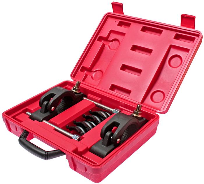 """JTC Приспособление для снятия выхлопной системы. JTC-4057CA-3505Специально предназначено для разъединения элементов выхлопной системы без особых усилий. Применяется с рожковым ключом 17 мм. и трещоточным ключом 3/8"""". Упаковка: прочный переносной кейс. Габаритные размеры: 330/240/80 мм. (Д/Ш/В) Вес: 4778 гр."""