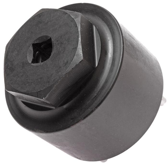 JTC Головка для сальника рулевого механизма. JTC-4105CA-3505Инструмент применяется при замене сальника механизма рулевого управления, а также для регулировки зажимной гайки. Предотвращает повреждение гайки. Применение: большинство грузовых автомобилей Японского производства Фусо (Fuso) и др. Габаритные размеры: 90/90/85 мм. (Д/Ш/В) Вес: 1478 гр.