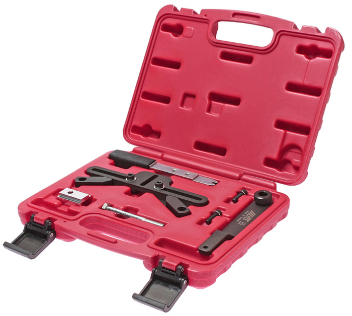 JTC Фиксатор маховика (BMW M47T2, M47TU, M57T2, M57TU, M67, N45, N45T, N46, N46T, N51, N52, N53, N54, W17). JTC-4146JTC-4071Специально предназначен для удержания маховика при замене цепи ГРМ. Способствует простому откручиванию и затягиванию центральных болтов демпфера. Применение: БМВ (BMW) M47T2, M47TU, M57T2, M57TU, M67, N45, N45T, N46, N46T, N51, N52, N53, N54, W17. Упаковка: прочный переносной кейс. Габаритные размеры: 270/220/60 мм. (Д/Ш/В) Вес: 1420 гр.