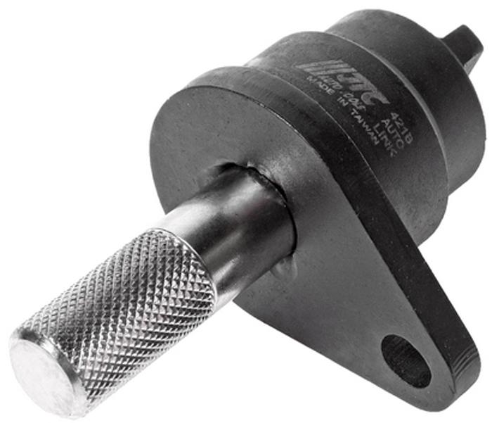 JTC Фиксатор распредвала и коленвала для установки фаз ГРМ с цепным приводом (Volkswagen, Audi, Skoda). JTC-4216CA-3505Предназначен для фиксации распредвала и установки фаз ГРМ. Применение: Фольксваген (Volkswagen) Polo, Golf, Beetle, Caddy; Шкода (Skoda), двигатели Ауди (Audi) 1.2 FSI. Оригинальный номер: Т10414. Габаритные размеры: 70/30/30 мм. (Д/Ш/В) Вес: 170 гр.