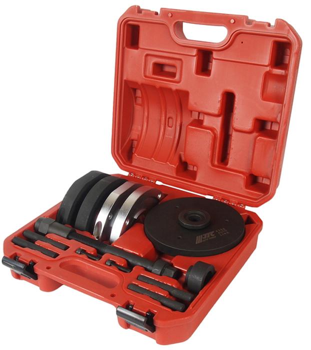 JTC Набор для замены ступичных подшипников, диаметр 78 мм. JTC-4306CA-3505Специально предназначен для монтажа/демонтажа ступичных подшипников.Замена производится прямо на автомобиле. Внешний диаметр подшипника: 78 мм. Применение: Форд (Ford) Focus, C-Max; Мазда (Mazda) М3; Вольво (Volvo) С30, С70, S40, V50. Упаковка: прочный переносной кейс.Габаритные размеры: 340/315/115 мм. (Д/Ш/В)Вес: 10490 гр.ПОДРОБНАЯ ВИДЕОИНСТРУКЦИЯ