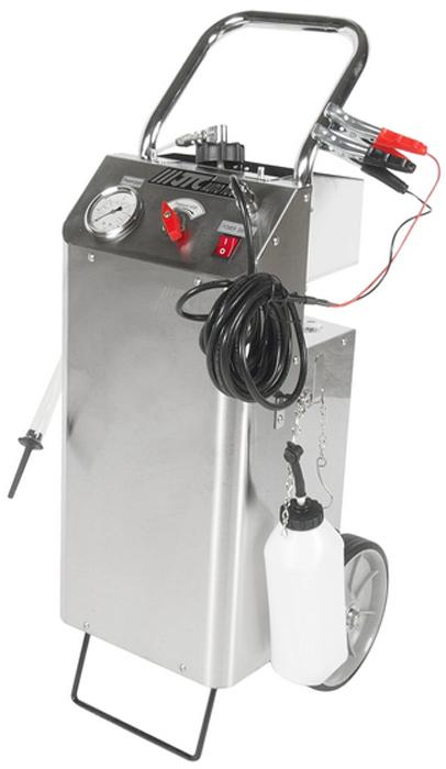JTC Приспособление для прокачки тормозов с электроприводом. JTC-4332CA-3505Приспособление для прокачки тормозов с электрическим приводом. Подходит как для прокачки тормозной системы, так и для прокачки гидравлической системы привода сцеплений. В комплект входят адаптеры для автомобилей европейского производства, оборудованных системой ABS. Регулируемая величина напряжения, автоматическое отключение для защиты тормозной системы. Объем емкости: 5 л. Питание: 12В постоянного тока.