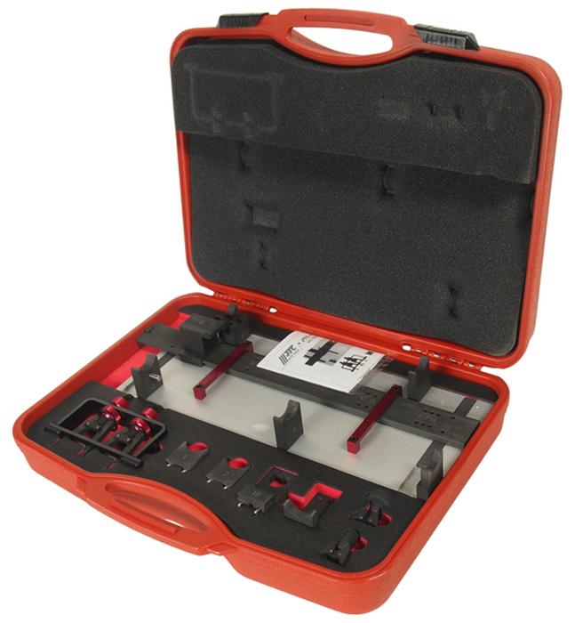 JTC Приспособление для установки и фиксации распределительных валов VW,AUDI,PORSCHE TDI 2.7,3.0,4.0. JTC-4405CA-3505Специальный набор для установки фаз ГРМ.Применение: Автомобили с дизельным двигателем Фольксваген (VW), Ауди (AUDI), Порше (PORSCHE) TDI 2.7 л., 3.0 л., 4.0 л., 4-клапанные, 8-цилиндровые.Оригинальные номера: Т40094, Т40095, Т40096.