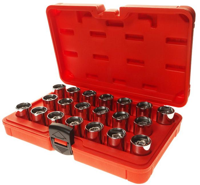 JTC Набор головок для демонтажа секретных болтов AUDI. JTC-4456RC-100BWCИспользуется для съема секретных болтов при потере специального ключа.Применение: Audi (после 2006 г.в.).Оригинальный номер (VM): T40073.В комплекте: A(801), 8(802), C(803), 0(804), E(805), F(806), G(807), H(808), J(809), L(810), M(811), N(812), 0(814), P(813), R(815), S(816), T(817), V(818), W(819), X(820).