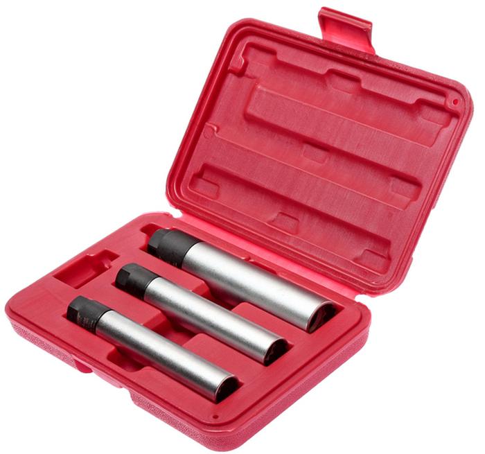 JTC Набор головок свечных 12-гранных, 3 шт. JTC-4623CA-3505Используется с ключом 3/8.Применяется для затяжки с точно заданным усилием во время установки свечей зажигания.3/8 х 14 мм: диаметр 19,6/19 Н·м3/8 х 16 мм: диаметр 20,8/20 Н·м3/8 х 21 мм: диаметр 27,8/25 Н·м