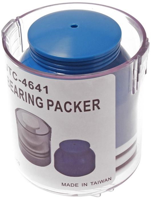 JTC Приспособление для смазки подшипников. JTC-4641JTC-45545Применяется для заполнения подшипника смазкой под давлением. Смазка добавляется через смазочный фитинг или путем снятия рабочей части приспособления. Применяется для подшипников с максимальным внутренним диаметром 16 мм и максимальным внешним диаметром 95 мм. Габаритные размеры: 140/110/110 мм. (Д/Ш/В) Вес: 541 гр.