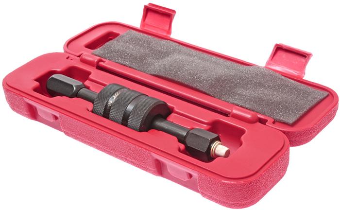 JTC Съемник дизельных форсунок BOSCH, LUCAS с адаптерами в комплекте. JTC-4646CA-3505Применяется для снятия дизельных форсунок BOSCH и LUCAS.Подходит для демонтажа прикипевших форсунок. Комплектуется адаптерами М8, М12, М14. Количество в оптовой упаковке: 20 шт. Упаковка: прочный пластиковый кейс.Габаритные размеры: 305/80/65 мм. (Д/Ш/В)Вес: 1227 гр.