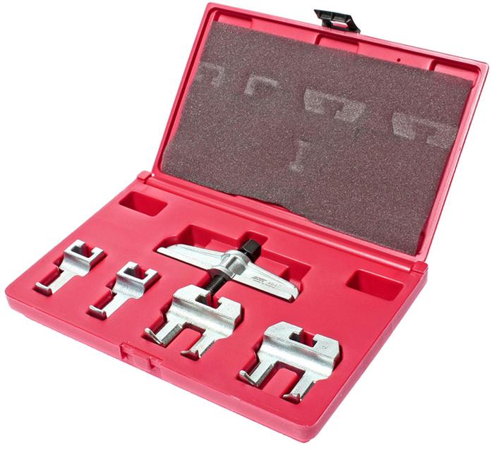 JTC Набор для снятия шкива распредвала VW, AUDI. JTC-4647CA-3505Набор используется для снятия шкива распределительного вала.Подходит для автомобилей Фольксваген (Volkswagen), Ауди (Audi). Количество в оптовой упаковке: 10 шт.Упаковка: прочный пластиковый кейс.Габаритные размеры: 290/190/50 мм. (Д/Ш/В)Вес: 1620 гр.