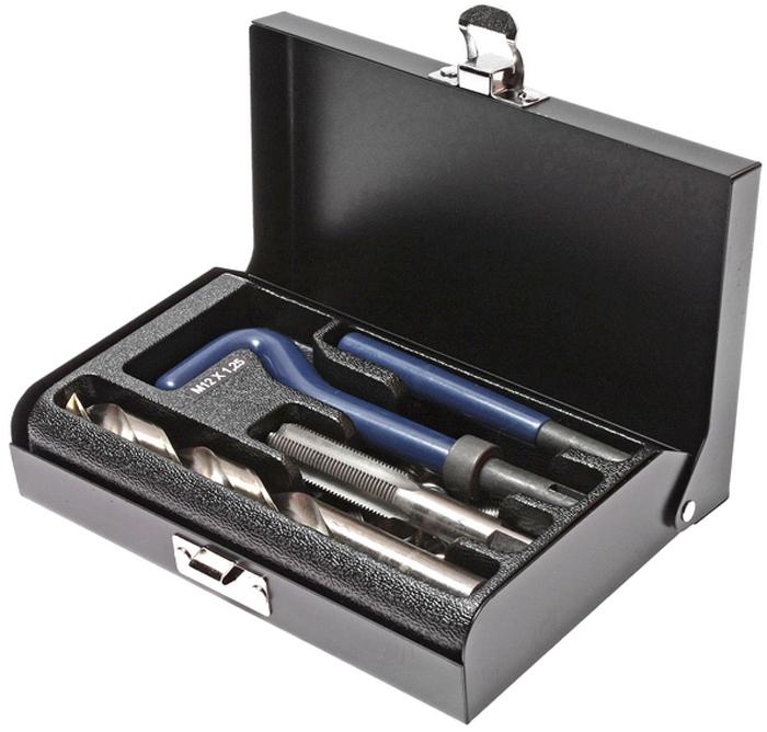 JTC Набор для восстановления резьбы (вставки M12x1,25, длина 16,3 мм, 10 шт), 14 предметов. JTC-47852706 (ПО)В комплекте 14 предметов В комплект входят: сверло, метчик, установочный инструмент, инструмент для обламывания хвостовика, резьбовые вставки Размеры: М12х1.25 Длина: 16.3 мм. Количество резьбовых вставок: 10 шт. Упаковка: прочный пластиковый кейс.Габаритные размеры: 165/110/35 мм. (Д/Ш/В) Вес: 665 гр.
