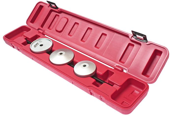 JTC Набор для снятия и установки сайлентблоков VW, AUDI серия VAG. JTC-4854CA-3505Набор для снятия и установки сайлент-блоков серия VAG JTCПрименяется в автомобилях VW и AUDIХарактеристики Специально предназначен для снятия / установки сайлентблоков. Применение: серия VAG. Габаритные размеры: 530/110/60 мм. (Д/Ш/В) Вес: 1743 г.