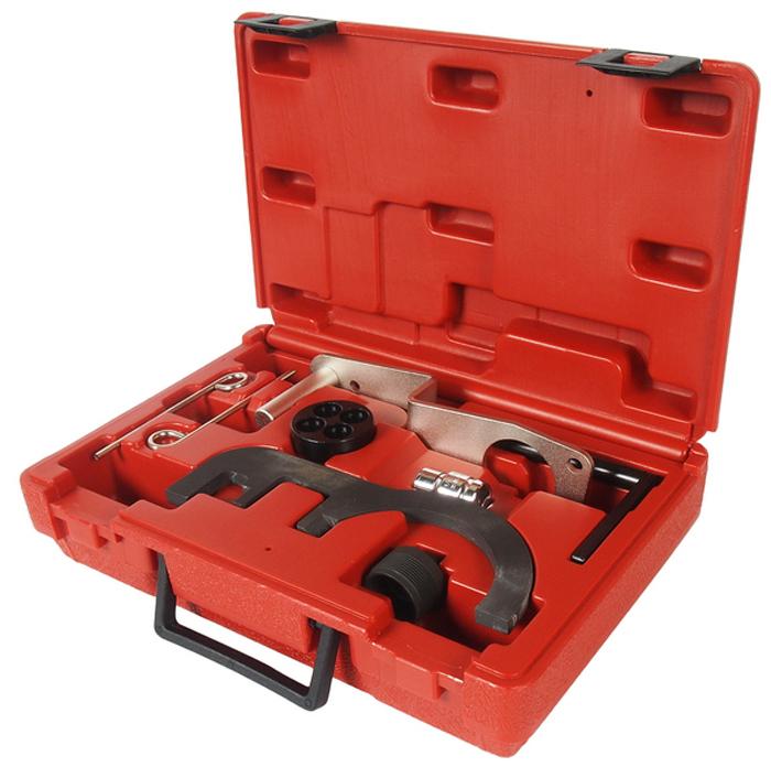 JTC Специнструмент для фиксации распределительного вала (BMW N47). JTC-4923AK100Предназначен для установки и снятия распредвала или его различных элементов. Применение: дизельные двигатели 2.0 БМВ (BMW), N47, N47S. Упаковка: прочный переносной кейс.Габаритные размеры: 290/200/80 мм. (Д/Ш/В)Вес: 1670 гр.