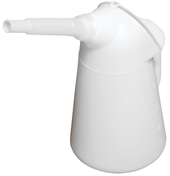 Масленка JTC, 5 л. JTC-5032FS-80423Масленка JTC с наконечником удобна в применении, когда есть необходимость залить масло в глубоко расположенные рабочие узлы. Масленка выполнена из полиэтилена с высокой плотностью и имеет защитную крышку. Корпус устойчив к химической обработке.Высота масленки: 330 мм.Длина трубки: 170 мм.Объем масленки: 5 л.Область рабочих температур: от –50 °C до +80 °C.