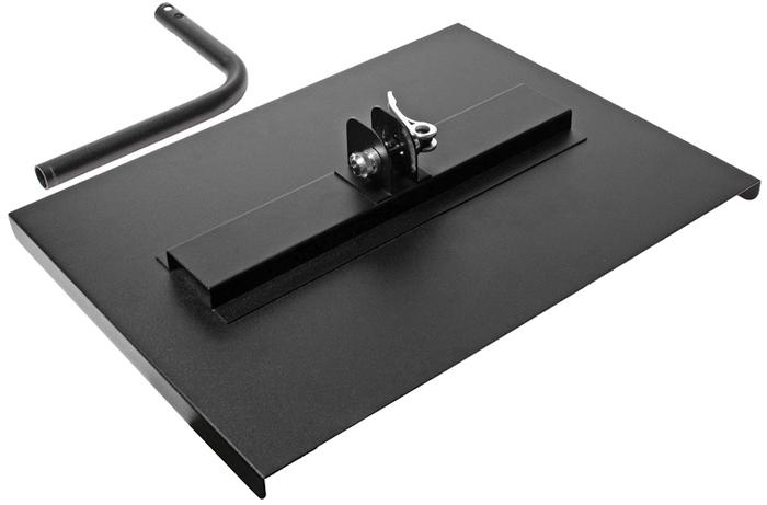 JTC Поверхность рабочая для инструментальной тележки JTC-5021. JTC-5060CA-3505Подходит для установки на тележках JTC-5021. Предназначена для хранения диагностического оборудования, компьютера или технической литературы, необходимой для ремонта автомобиля. Размер в собранном виде: 402 X 301 X 221 мм. Габаритные размеры: 410/350/230 мм. (Д/Ш/В) Вес: 2400 гр.