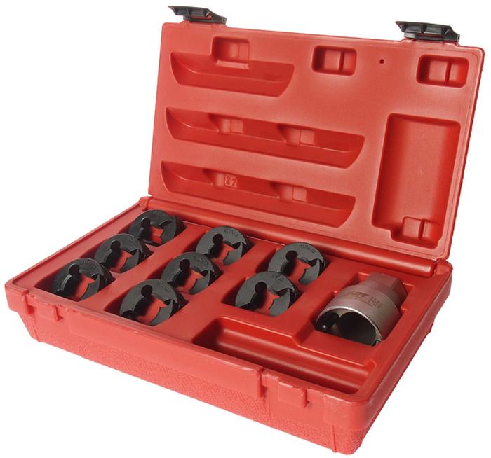 JTC Набор для восстановления резьбы оси ШРУСа. JTC-5203CA-3505Используется для очистки или ремонта резьбы оси ШРУСа: M24x2.0; M24x1.5; M22x1.5; M22x1.0; M20x1.5; M20x1.25; 13/16x20; 3/4x20Используется с 32 мм. головкой или гаечным ключом.Упаковка: прочный переносной кейс. Габаритные размеры: 260/160/70 мм. (Д/Ш/В)Вес: 1370 гр.