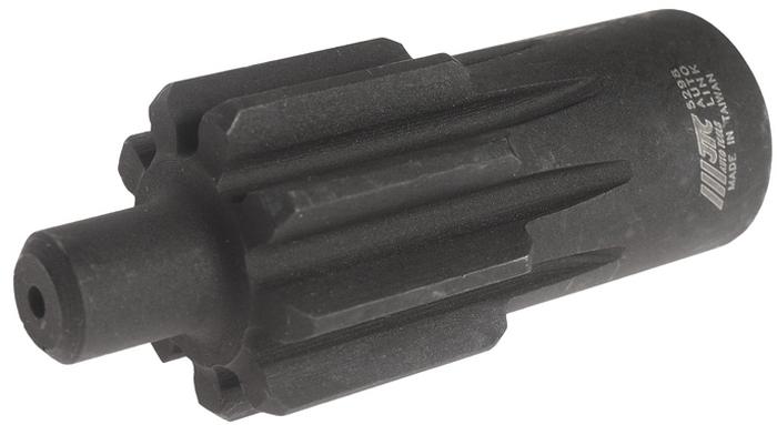 """JTC Приспособление для проворачивания коленвала DAF (XF105,Euro5 и пр.). JTC-5298CA-3505Применяется для проворачивания коленчатого вала.Используется с ключом 1/2"""".Применение: XF105, Euro5 и пр.Габаритные размеры: 100/50/40 мм. (Д/Ш/В)Вес: 300 гр."""