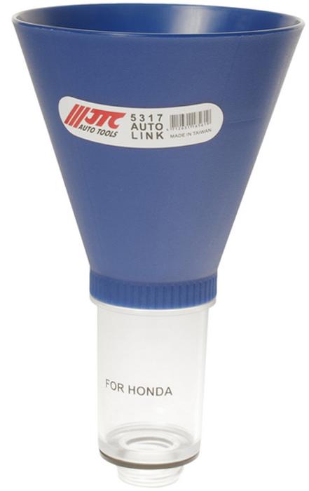 JTC Воронка для масла. JTC-5317CA-3505Размер воронки: диаметр 125 мм х 211 ммНижняя часть воронки выполнена из прозрачного материала для удобства контроля масла.Размеры: М32хР 3,5 резьбаЦвет: СинийПриминение: Автомобили Акура (ACURA), Хонда (HONDA), Шевроле (CHEVROLET), Форд (FORD), Хэндэ (HYUNDAI), Исузу (ISUZU), Джип (JEEP), КИА (KIA), Лэнд Ровер (LAND ROVER), Линкольн (LINCOIN), Мазда (MAZDA), Меркури (MERCURY),Сузуки (SUZUKI), Крайслер (CHRYSLER), Додж (DODGE), Мини (MINI), Митсубиши (MITSUBISHI), Фольксваген (VW), Ниссан (NISSAN), Инфинити (INFINITI).
