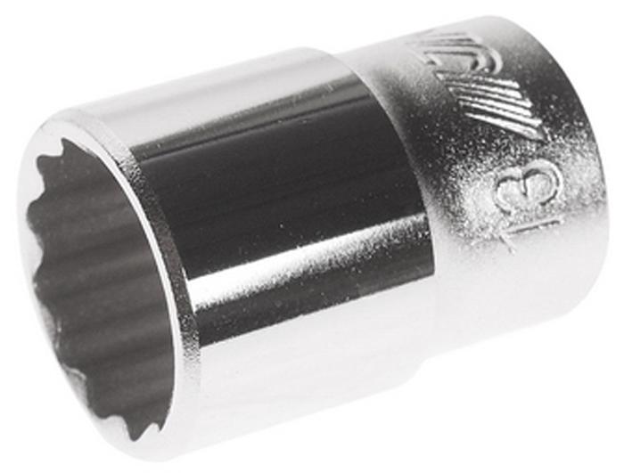 """JTC Головка торцевая 12-гранная 1/4 х 13 мм, длина 25 мм. JTC-22613CA-350512 граней, метрический размер.Диаметр: 13 мм., ширина - 17.9 мм.Общая длина: 25 мм.Размер: 1/4"""" Dr.Изготовлена из закаленной хром-ванадиевой стали.Количество в оптовой упаковке: 20 шт. и 1000 шт.Габаритные размеры: 25/20/20 мм. (Д/Ш/В)Вес: 25 гр."""