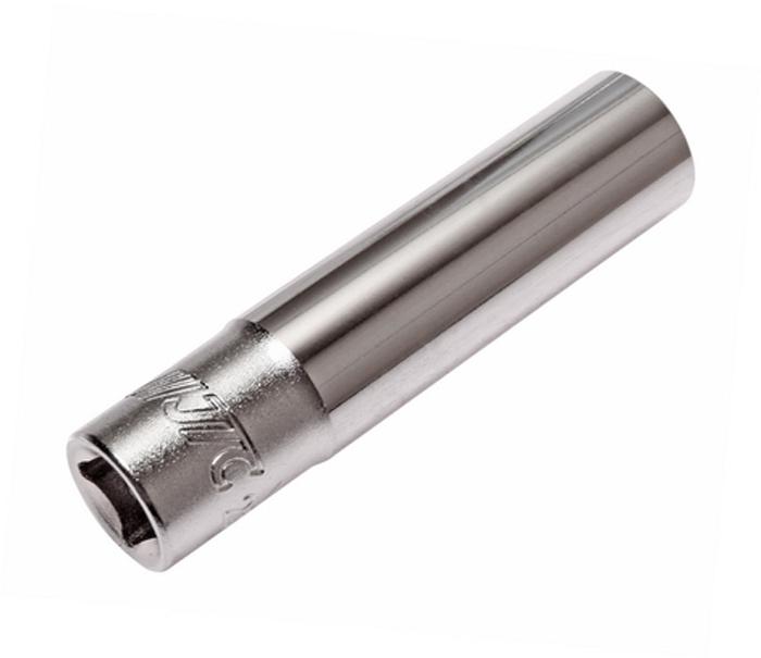 Головка торцевая JTC, глубокая, 6-гранная, 1/4 х 8 мм, длина 50 мм. JTC-25208HS.070023Головка торцевая JTC изготовлена из закаленной хром-ванадиевой стали. Характеристики: 6 граней, метрический размер.Размер: 1/4 х 8 мм.Общая длина: 50 мм. Габаритные размеры: 50/12/12 мм. (Д/Ш/В) Вес: 27 гр.