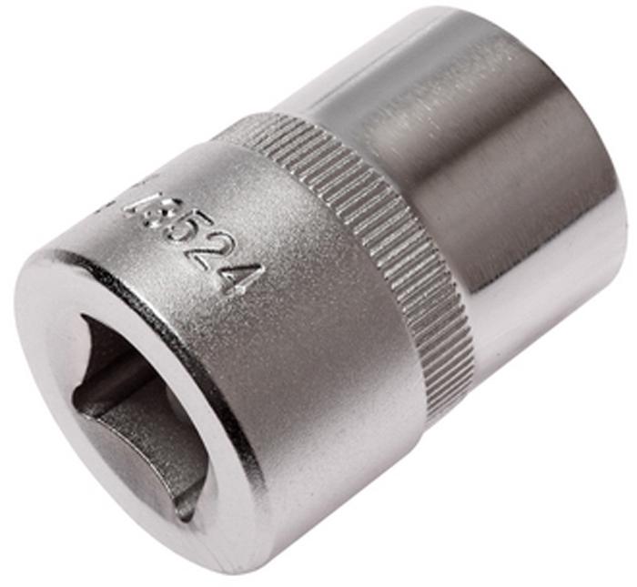 """JTC Головка торцевая TORX 1/2 х E24, длина 38 мм. JTC-43524CA-3505Изготовлена из закаленной хром-ванадиевой стали.Размер: 1/2""""хE24. Общая длина: 38 мм.Количество в оптовой упаковке: 10 шт. и 200 шт.Габаритные размеры: 38/28/28 мм. (Д/Ш/В)Вес: 111 гр."""