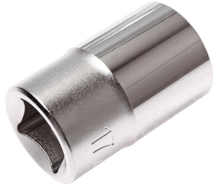 Головка торцевая JTC 1/2, 17 мм. JTC-43817CA-3505Головка торцевая JTC изготовлена из закаленной хром-ванадиевой стали и предназначена для монтажа/демонтажа резьбовых соединений. Имеет 6 граней, метрический размер. Размер головки: 1/2х17 мм.Длина головки: 38 мм.