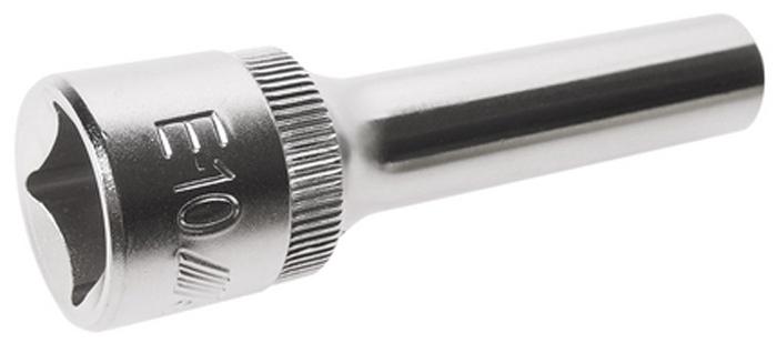 """JTC Головка торцевая глубокая TORX 1/2 х E10, длина 76 мм. JTC-4731080625Изготовлена из закаленной хром-ванадиевой стали.Размер: TORX 1/2""""хE10. Общая длина: 76 мм.Количество в оптовой упаковке: 10 шт. и 200 шт.Габаритные размеры: 76/14/14 мм. (Д/Ш/В)Вес: 83 гр."""