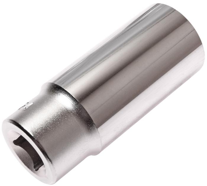 """JTC Головка торцевая глубокая 6-гранная 1/2 х 24 мм, длина 76 мм. JTC-47624RC-100BWC6 граней, метрический размер.Изготовлена из закаленной хром-ванадиевой стали.Размер: 1/2""""х24 мм. Общая длина: 76 мм.Количество в оптовой упаковке: 10 шт. и 100 шт.Габаритные размеры: 76/32/32 мм. (Д/Ш/В)Вес: 212 гр."""
