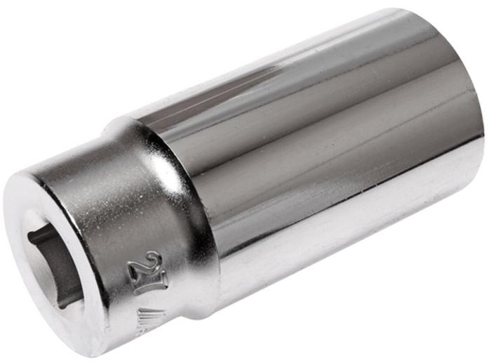 """JTC Головка торцевая глубокая 12-гранная 1/2 х 27 мм, длина 76 мм. JTC-47727CA-350512 граней, метрический размер. Изготовлена из закаленной хром-ванадиевой стали.Размер: 1/2""""х27 мм. Общая длина: 76 мм.Количество в оптовой упаковке: 10 шт. и 80 шт.Габаритные размеры: 76/36/36 мм. (Д/Ш/В)Вес: 271 гр."""