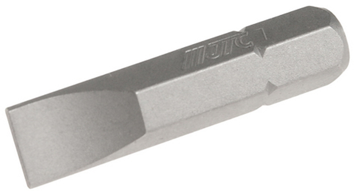 JTC Вставка 1/4DR шлиц 1.2х7х30 мм. JTC-1123007RC-100BWCРазмер: 1.2 х 7 х 30 мм.Квадрат: 1/4 DR.Материал: S2 сталь.Тип: SL.