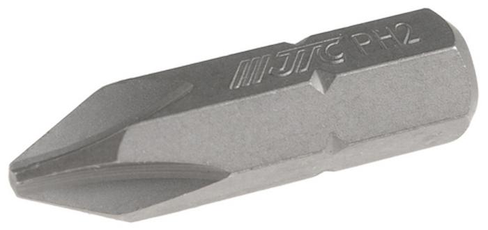 JTC Вставка 5/16DR Philips PH.2х30 мм. JTC-1213002CA-3505Размер: 2 х 30 мм.Квадрат: 5/16 DR.Материал: S2 сталь.Тип: PH.