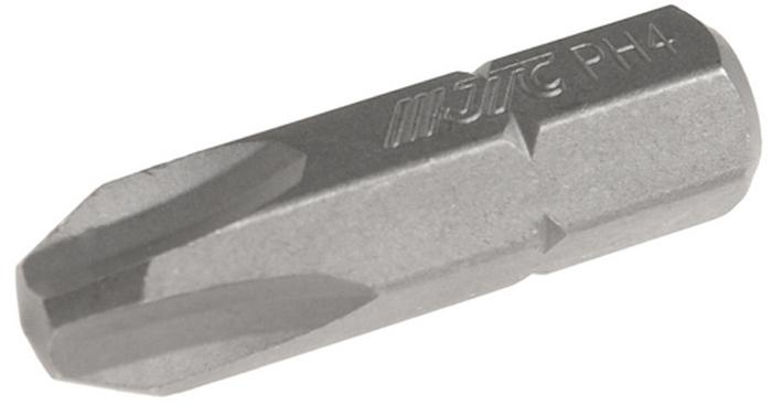 JTC Вставка 5/16DR Philips PH.4х30 мм. JTC-1213004RC-100BWCРазмер: 4 х 30 мм.Квадрат: 5/16 DR.Материал: S2 сталь.Тип: PH.