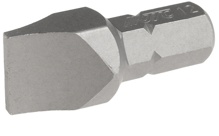 JTC Вставка 5/16DR шлиц 2х12х30 мм. JTC-1223012 jtc отвертка шлиц силовая sl6 5 x 100 мм jtc 3467
