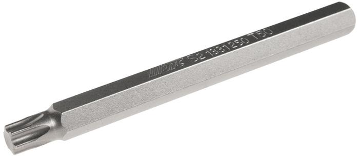 JTC Вставка 10 мм TORX экстрадлинная Т50х120 мм. JTC-1331250CA-3505Размер: Т50 х 120 мм., экстрадлинная TORX.Общая длина: 120 мм.Длина насадки: 10 мм.Материал: S2 сталь.