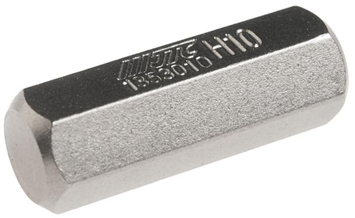 JTC Вставка 10 мм 6-гранная 10х30 мм. JTC-1353010CA-3505Размер: 10 х 30 мм.Длина насадки: 10 мм 6-гранная.Материал: S2 сталь.