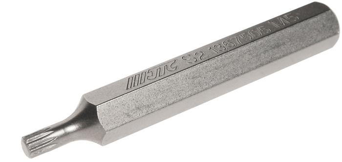 JTC Вставка 10 мм SL удлиненная М5х75 мм. JTC-1367505CA-3505Размер: М5.Общая длина: 75 мм.Длина насадки: 10 мм удлиненная SL.Материал: S2 сталь.