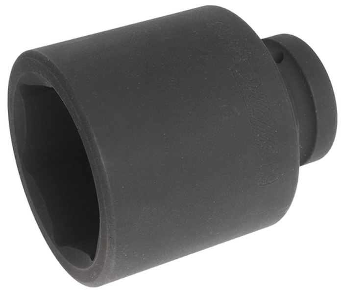 """JTC Головка торцевая глубокая ударная 6-гранная 1 х 63 мм, длина 110 мм. JTC-849063CA-35056 граней, метрический размер.Диаметр: 63 мм., ширина - 87 мм.Общая длина: 110 мм.Размер: 1"""" Dr.Изготовлена из высококачественной хром-молибденовой стали."""