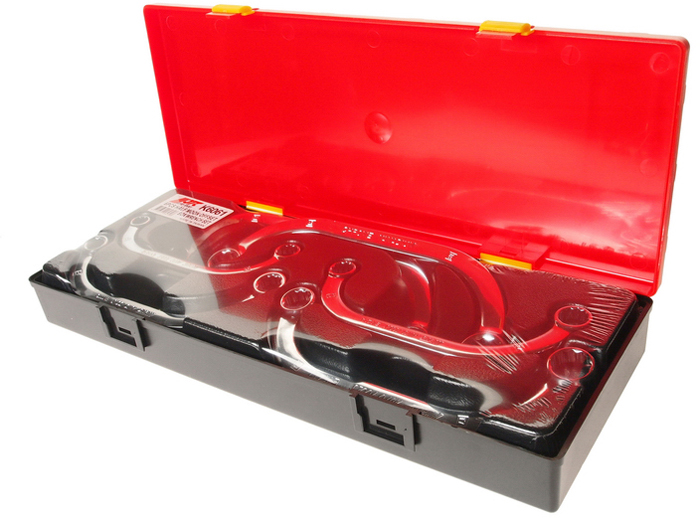 JTC Набор ключей накидных С-образных, 6 шт. JTC-K6061CLP446В наборе: 6 предметов.Размеры: 10x12, 11x13, 12x14, 14x17, 16x18, 17x19 мм.