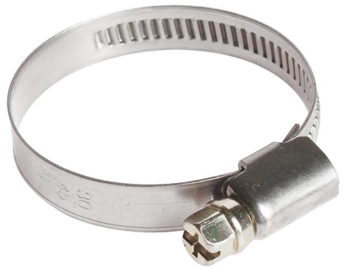 JTC Хомут червячный 30-45 мм. JTC-ZN45CLP446Инструмент является уникальной разработкой JTC и защищен международным патентом. Не имеет аналогов на рынке. Особенность патента: Увеличенная площадь рабочей поверхности болта позволяет сильнее затягивать хомут, делая крепление материалов более надежным, по сравнению с продуктами других поставщиков.Материал: хомут выполнен из нержавеющей стали марки ANSI8410. Затяжной винт изготовлен из стали марки S45C. Особая конструкция хомута позволяет выставлять различные диаметры с помощью стяжного винта. Обладает высоким сопротивлением скручиванию (60 кг/см² для ленты шириной 9 мм, 80 кг/см² для ленты шириной 12 мм) и высокой прочностью. Специальная кромка не оставляет заусениц и не повреждает поверхность шланга. Диапазон применения: 30-45 мм. Ширина ленты: 9 мм. Толщина ленты: 0.6 мм. Количество в оптовой упаковке: 100 шт. и 1000 шт.