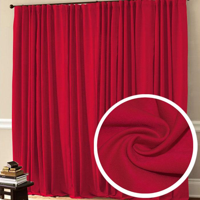 Портьера Amore Mio Софт, на ленте, цвет: красный, высота 270 см. 77503SS 4041Портьера Amore Mio - плотная, мягкая, ворсистая ткань - софт, с деликатным сатиновым блеском. Эти портьеры будут идеальным решением для спальни. Изготовлены из 100% полиэстера. Полиэстер - вид ткани, состоящий из полиэфирных волокон. Ткани из полиэстера легкие, прочные и износостойкие. Такие изделия не требуют специального ухода, не пылятся и почти не мнутся.Крепление к карнизу осуществляется при помощи вшитой шторной ленты.