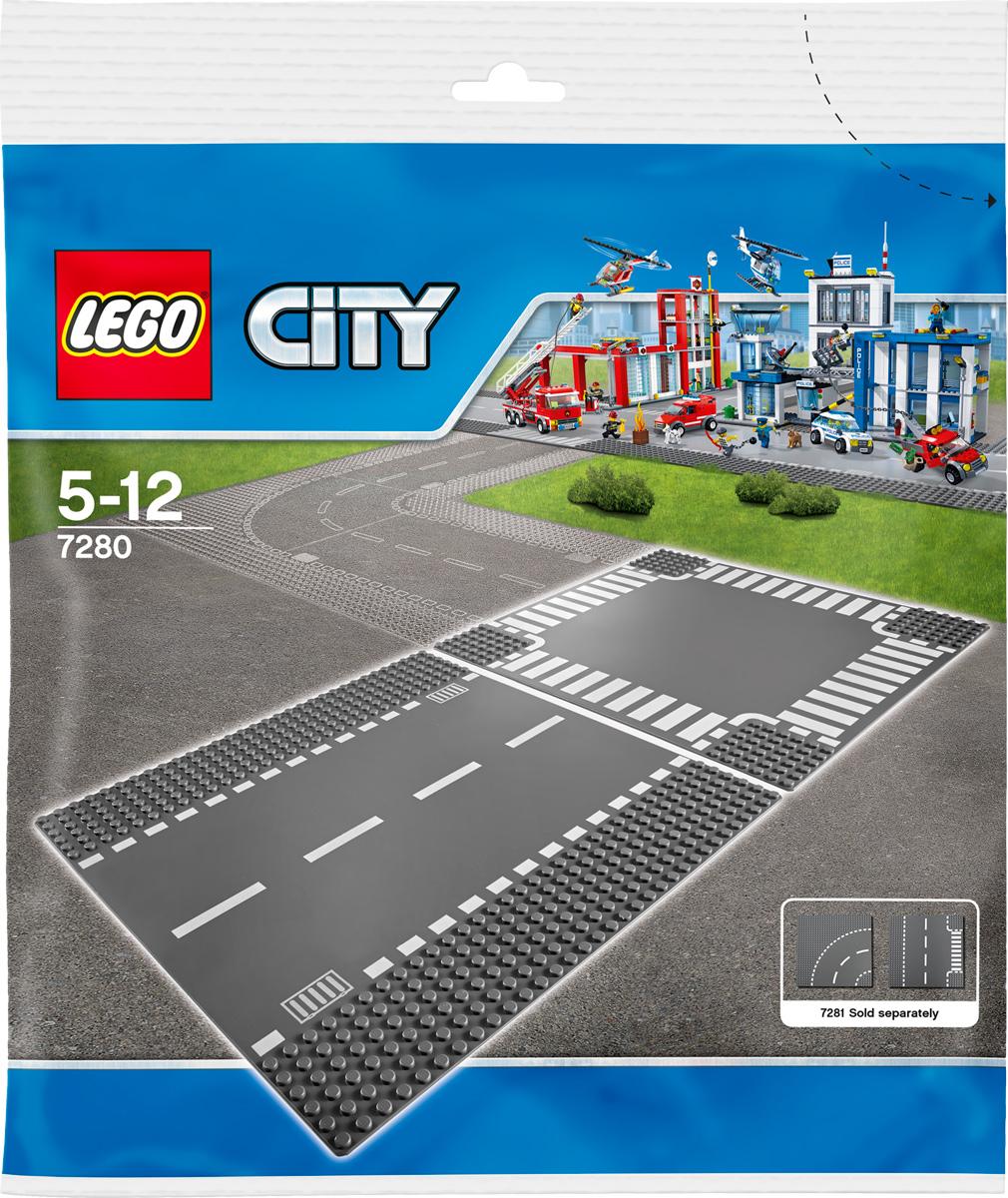 LEGO City Конструктор Перекресток 7280 lego city конструктор внедорожник каскадера 60146