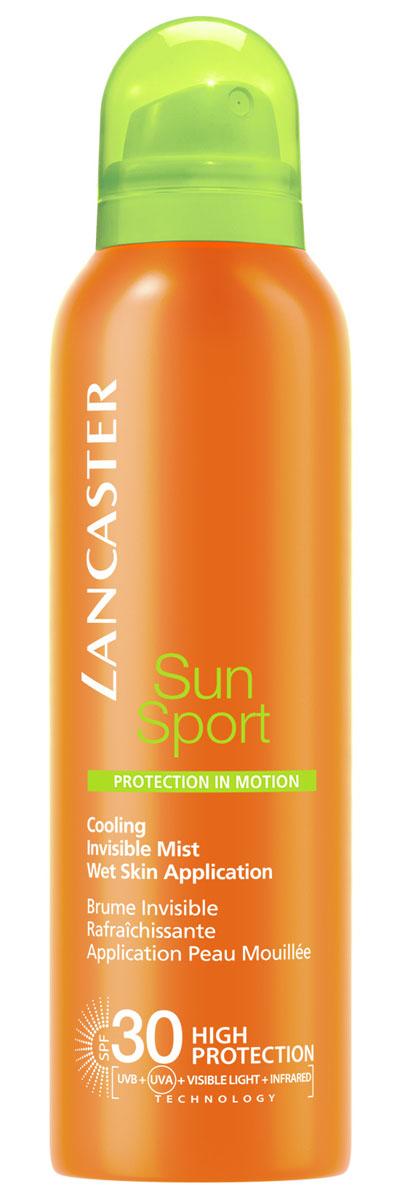 Lancaster Sun Sport Солнцезащитный спрей спрей с возможностью нанесения на влажную кожу и высокой степенью защиты spf 30 для идеального загара, 200 мл40777310000Высокоэффективные формулы, специально разработанные для занятий спортом и активного отдыха. Быстро впитываются, незаметны и неощутимы на коже. Можно наносить на влажную кожу. Особенности: защита от UVA- и UVB- лучей с помощью фотостабильных высокоэффективных UVA- и UVB-фильтров Эксклюзивная ИНФРАКРАСНАЯ защита, благодаря уникальной системе двойного действия: отражает и нейтрализует IR-лучи, благодаря 3 физическим фильтрам (рубиновой пудре, диоксиду титана, перламутровому пигменту). Нейтрализует свободные радикалы, образованные UV-лучами с помощью эксклюзивного антиоксидантного комплекса и IR-лучами с помощью мощных антиоксидантов (витамина Е и производного витамина С). NEW система нанесения на влажную кожу WET SKIN APLICATION. Комплекс Активации Загара: Сочетание комплексов Гелиотан (богат аминокислотами, микроэлементами и минералами), Биотаннинг (экстракт сладкого апельсина) и масла бурити Масло бабассу Глицерин.