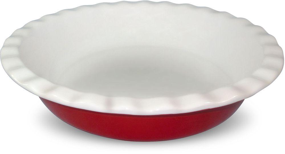 Блюдо Barton Steel, 1,25 лVT-1520(SR)Круглое керамическое блюдо. Размер: 10,25. 25,8 х 25,8 х 5,7см. 1,25л. 2 цвета (оранжевый/красный)