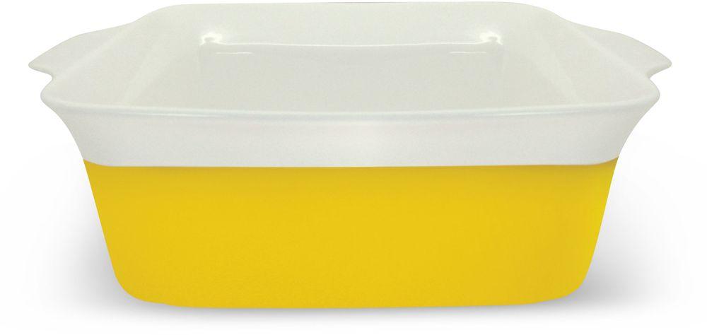 Блюдо Barton Steel, 2 л. 2408BS115510Квадратное фарфоровое блюдо. Размер: 26,6 х 22 х 8,3. 2,0л. Прочный фарфор с цветной глазурью, обжиг при 1310гр.С.
