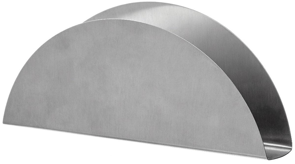Салфетница Walmer Denis, 15 x 2,8 x 6,2 см115510Салфетница Walmer Denis выполнена из высококачественной нержавеющей стали. Благодаря лаконичному дизайну и элегантной форме салфетница подойдет не только для повседневных салфеток, но и праздничных, которые, как правило, имеют больший формат. Салфетница Walmer Denis станет не только украшением любого стола, но и отличным подарком.